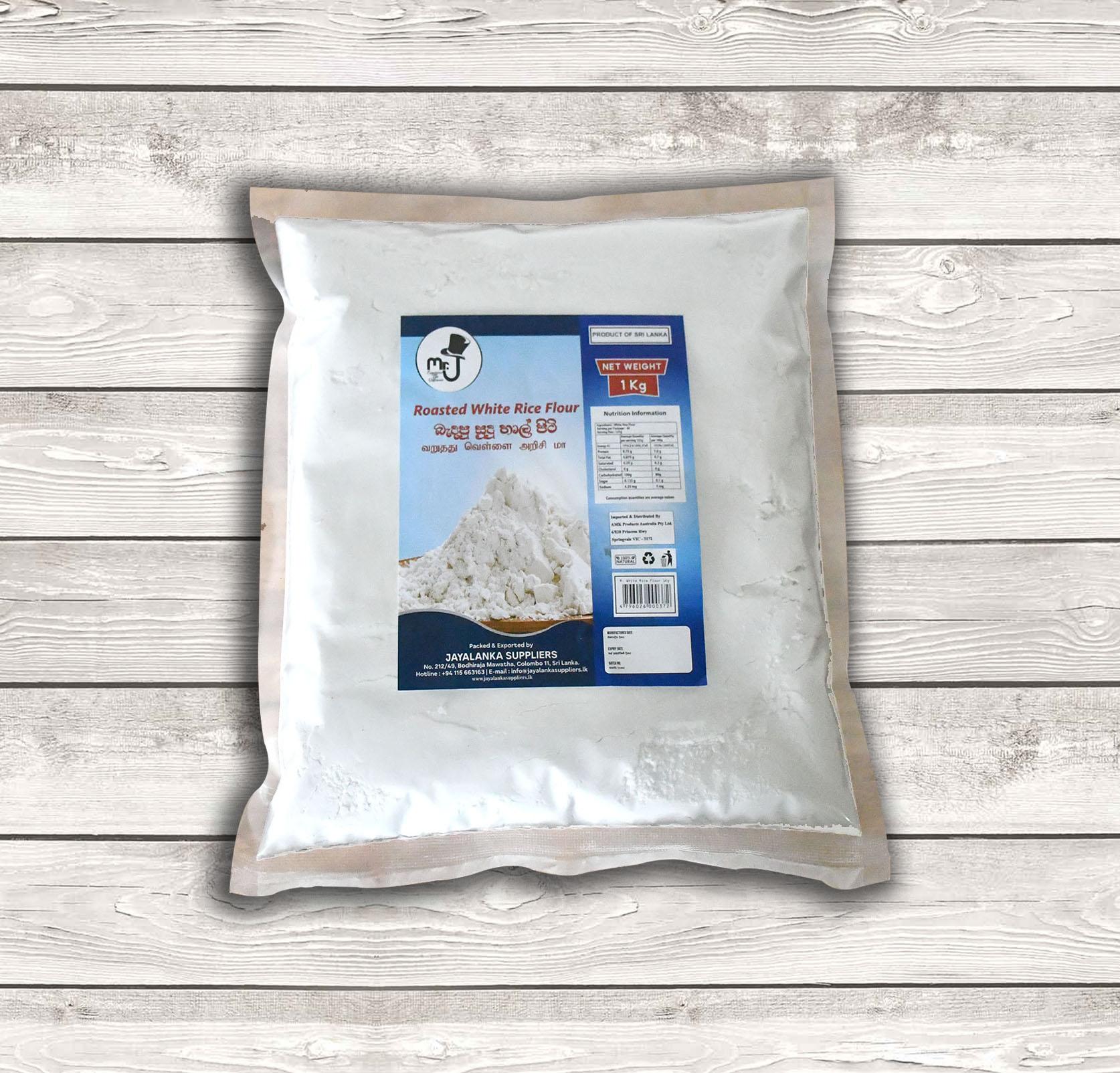roasted white rice flour